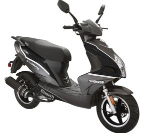 Gray 49CC Scooter.